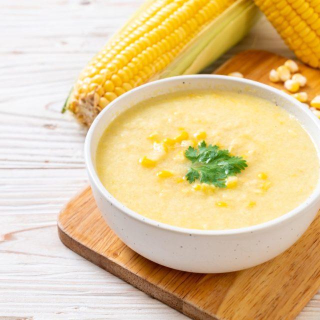 soupe de mais originaire d'Amérique